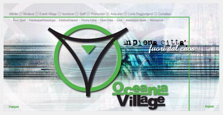 Oceania Vilalge - navigazione