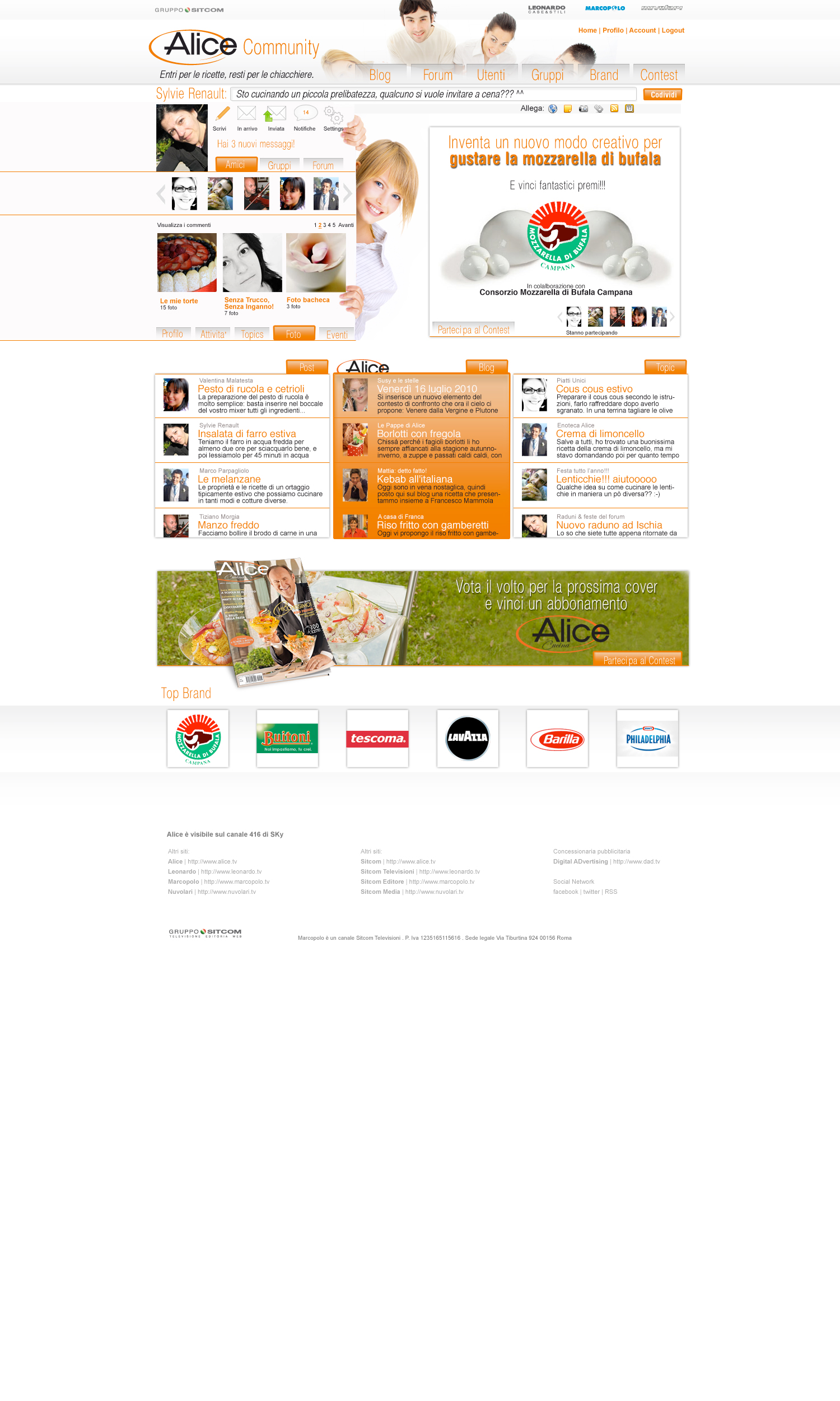 community_homepage_loggati